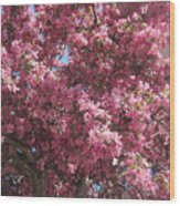 Spring 15 Wood Print