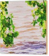 Spring 2 Wood Print