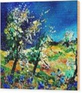 Spring 56 Wood Print