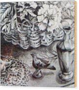 Spring Arrangemnt Wood Print
