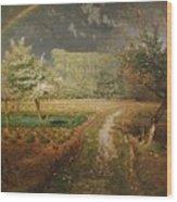 Spring At Barbizon Wood Print by Jean Francois Millet