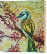 Spring Bird Wood Print