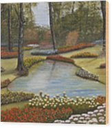 Spring Blooms Wood Print