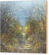 Spring Blosssom Wood Print