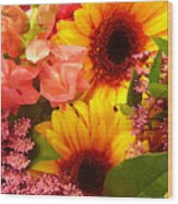 Spring Bouquet 1 Wood Print