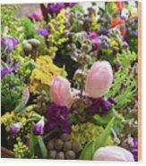 Spring Bouquet 2 Wood Print