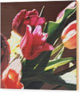 Spring Bouquet Wood Print by Steve Karol