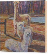 Spring Celebration - Mothers And Child Wood Print
