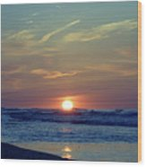 Spring Dawn Wood Print