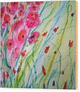Spring Fantacy Wood Print