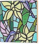 Spring Fling Wood Print