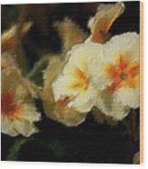 Spring Floral Wood Print by David Lane