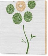 Spring Flower Wood Print by Frank Tschakert
