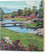 Spring Flower Park Wood Print