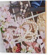 Spring Flowers Box Wood Print