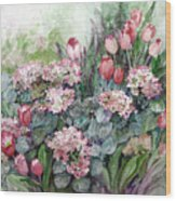 Spring Forth In Beauty Wood Print