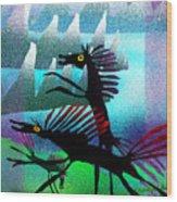 Spring Frollycke Wood Print
