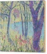 Spring Greeting Wood Print