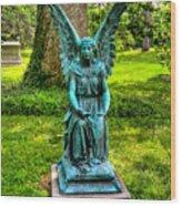 Spring Grove Angel Wood Print
