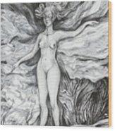 Spring II Wood Print
