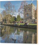 Spring In Canterbury Wood Print