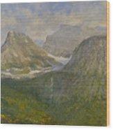 Spring In Glacier National Park Wood Print