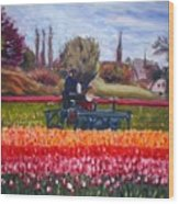 Spring In Holland3 Wood Print