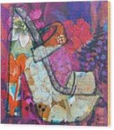 Spring In My Step Wood Print
