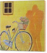 Spring Is In The Air Wood Print