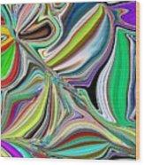 Spring Kaleidoscope Wood Print