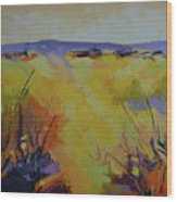 Spring Karoo Wood Print