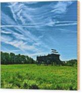 Spring Landscape In Nh 4 Wood Print