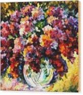 Spring Lilac Wood Print