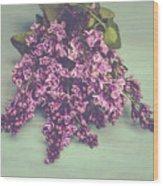 Spring Lilacs Wood Print