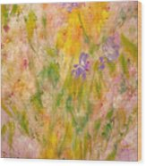 Spring Meadow Wood Print