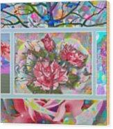 Spring Medley Wood Print