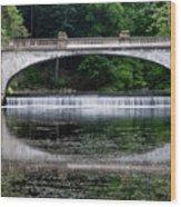 Spring Morning At White Bridge II Wood Print