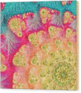 Spring On Parade Wood Print