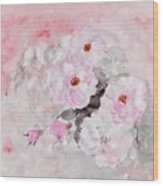 spring party Healing roses -22 Wood Print