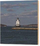 Spring Point Ledge Lighthouse Wood Print