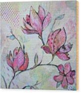 Spring Reverie I Wood Print