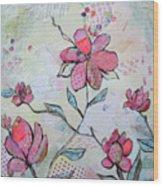 Spring Reverie II Wood Print
