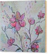 Spring Reverie IIi Wood Print