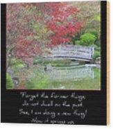 Spring Revival Wood Print