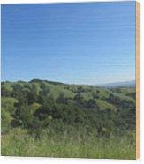 Spring Ridge Wood Print