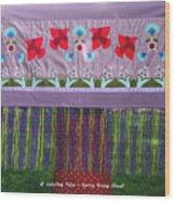 Spring Rising Wood Print
