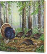Spring Ritual Wood Print