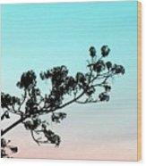 Spring Silhouette Wood Print