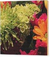 Spring/summer Bouquet - Flowers Wood Print