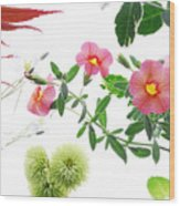 Spring Tapestry Wood Print